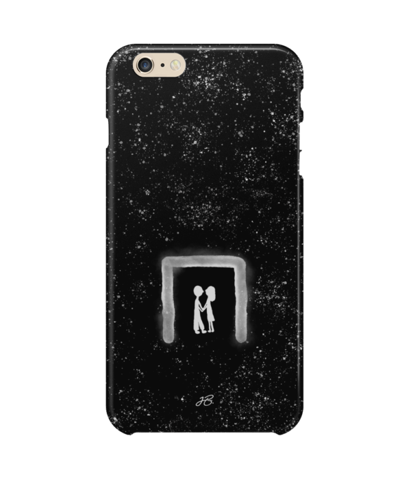 iphone 6s plus kiss and stars M-F black